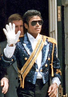 Michael Jackson in 1984.