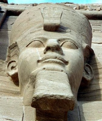 Statue of Ramsses the Great.