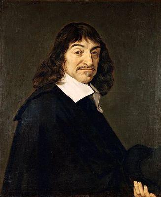 A late 17th Century copy of Franz Hals' 1649 portrait of René Descartes. It is located in the Louvre, Paris.