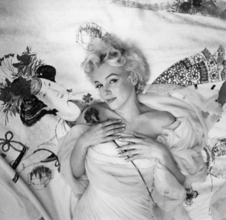 cecil beaton marilyn rose on bed