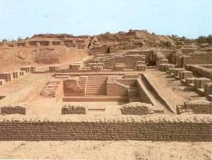 Excavation of the Indus Valley civilization in what is now Pakistan. Every home had a flush toilet.