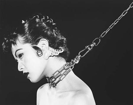 Nobuyoshi-Araki-woman with chain