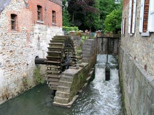 This watermill at Braine-le-Château, Belgium dates from the 12th Century.