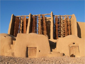 These windmills in Iran were originally built between 500 and 900 CE.
