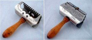 Star Safety Razors, invented by the Kampfe Brothers, from 1884.