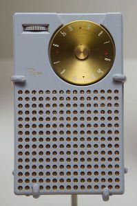 The Regency transistor radio, first sold in 1954.