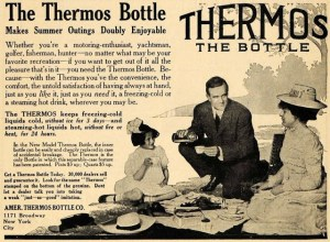 A Thermos ad from 1909.