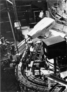 The first industrial robot - the Unimate - at General Motors in 1961.