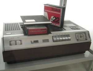 The Philips N1500 VCR - made in 1970 and released to the public in 1972 - was one of the first home videocassette recording devices.