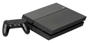 The PlayStation 4 video game console was introduced in 2013.