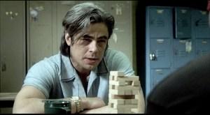 Benicio del Toro in 21 Grams (2000).