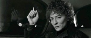 Cate Blanchett channels one of the many sides of Bob Dylan in I'm Not There (2007).