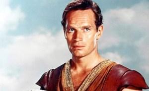 Charlton Heston in Willliam Wyler's Ben-Hur (1959).