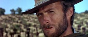 Clint Eastwood in The Good, The Bad and the Ugly (1966).
