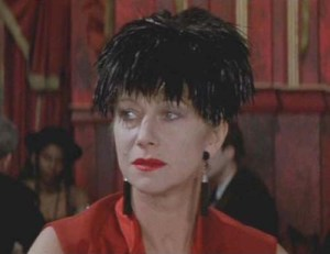 Helen Mirren in Peter Greenaway's The Cook, The Thief, His Wife and Her Lover (1990).