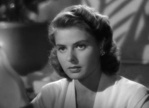 Ingrid Bergman in Casablanca (1942).
