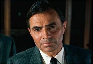 James Mason in Alfred Hitchcock's North by Northwest (1959).