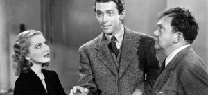 From left: Jean Arthur, James Stewart and Thomas Mitchell in Mr. Smith Goes to Washington (1939).