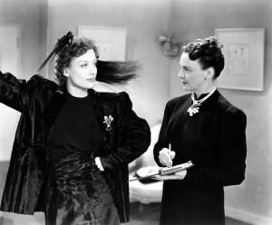 Joan Crawford (left) in The Women (1939).
