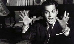 Johnny Depp in Ed Wood (1994).
