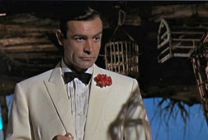 Sean Connery in Goldfinger (1964).