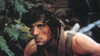 Sylvester Stallone in First Blood (1980).