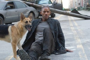 Will Smith in I Am Legend (2007).