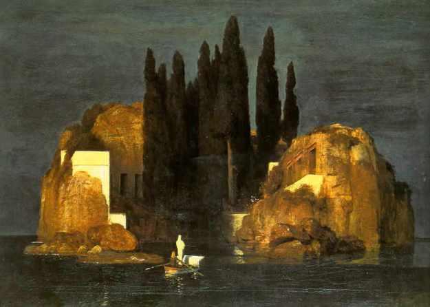 Bocklin isle of the dead basel