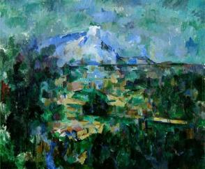 Cezanne Mont_Sainte-Victoire_Seen_from_Les_Lauves_(Basel)_1904-1906_