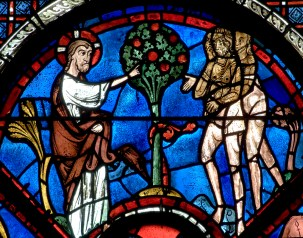 chartres stained glass 2