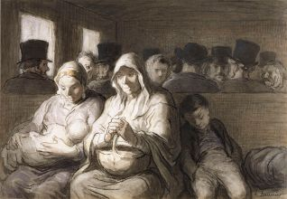 Daumier The_Third_Class_Carriage Walters