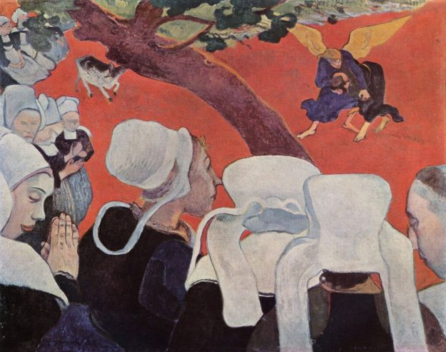 gauguin vision after the sermon