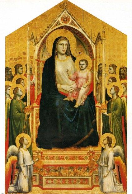 Giotto, Ognisanti Maesta