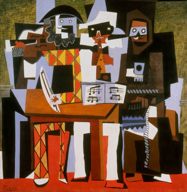 picasso three musicians philly