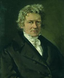 An 1839 portrait of Friedrich Bessel.