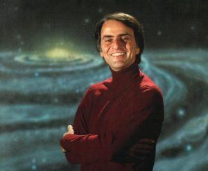 Carl Sagan.