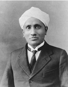 Chandrasekhara Venkata Raman.