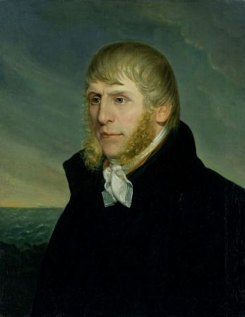 A Self-Portrait of Caspar David Friedrich from 1810-1820.