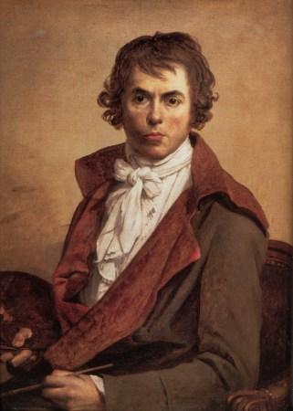A 1794 Self-Portrait by Jacques-Louis David.