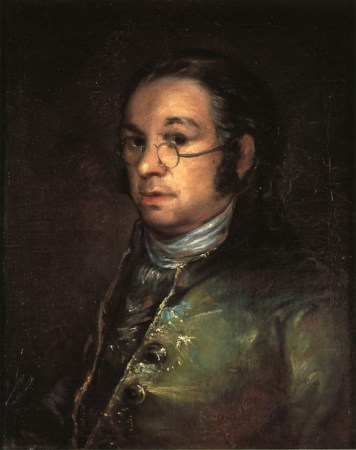 Francisco Goya's Self-Portrait with Spectacles (1801).