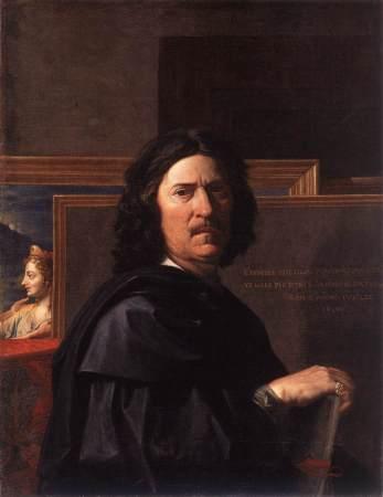 A 1650 Self-Portrait by Nicolas Poussin.