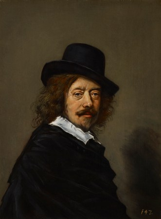 A copy of a Frans Hals Self-Portrait.