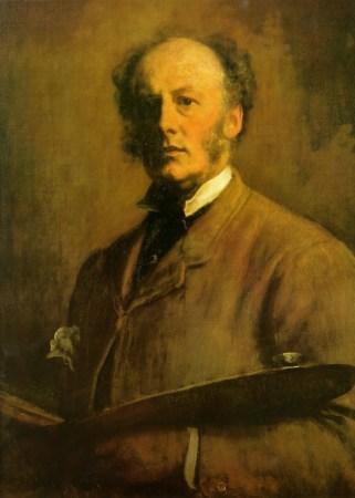 A Self-Portrait by John Everett Millais from c. 1880-1883.
