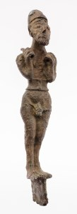 A bronze figurine from Syria, dating to about 3000 BCE.