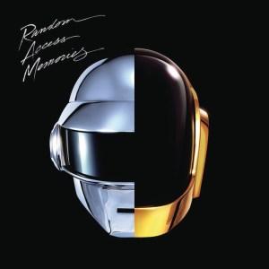 The cover of Daft Punk's album Random Access Memories.