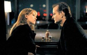 Scarlett Johansson and Bill Murray in Lost in Translation.