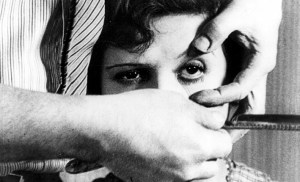 A still image from Un Chien Andalou.
