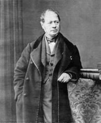 An 1863 self-portrait of Hippolyte Bayard.