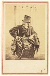 An 1863 self-portrait of Nadar in a balloon.