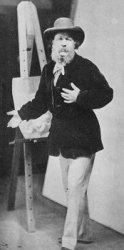 A photograph of Oscar Rejlander.